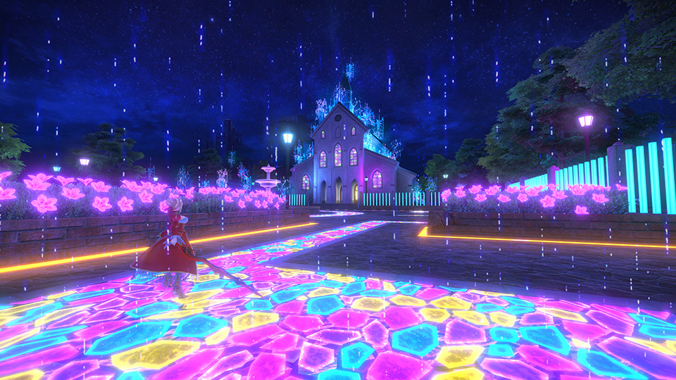 Fate/Extella Link - Stages