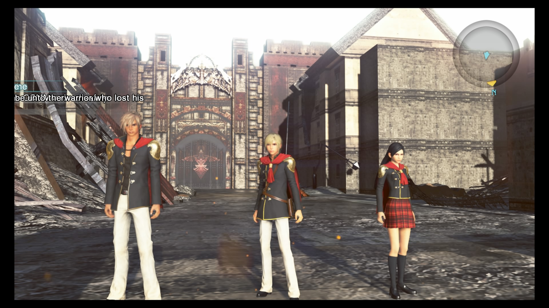 final fantasy type 0 hd review screenshots playstation lifestyle. Black Bedroom Furniture Sets. Home Design Ideas