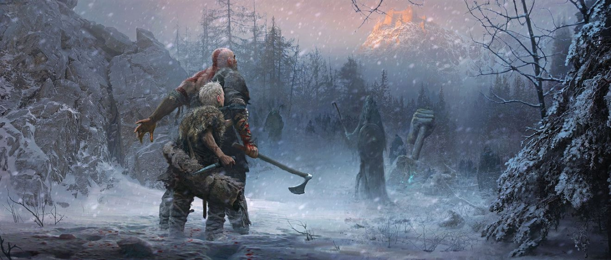 God of War - First Norse Concept