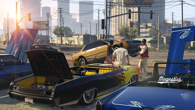 Grand Theft Auto V Lowriders Update