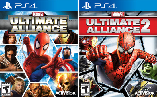 Marvel Ultimate Alliance 1 and 2 $11.99 each