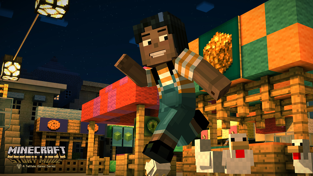 Minecraft Story Mode Screenshot (Episode 1)