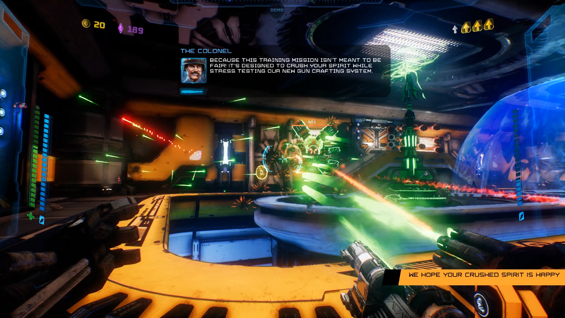 Mothergunship Screenshots