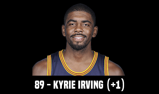 89 - Kyrie Irving (+1)