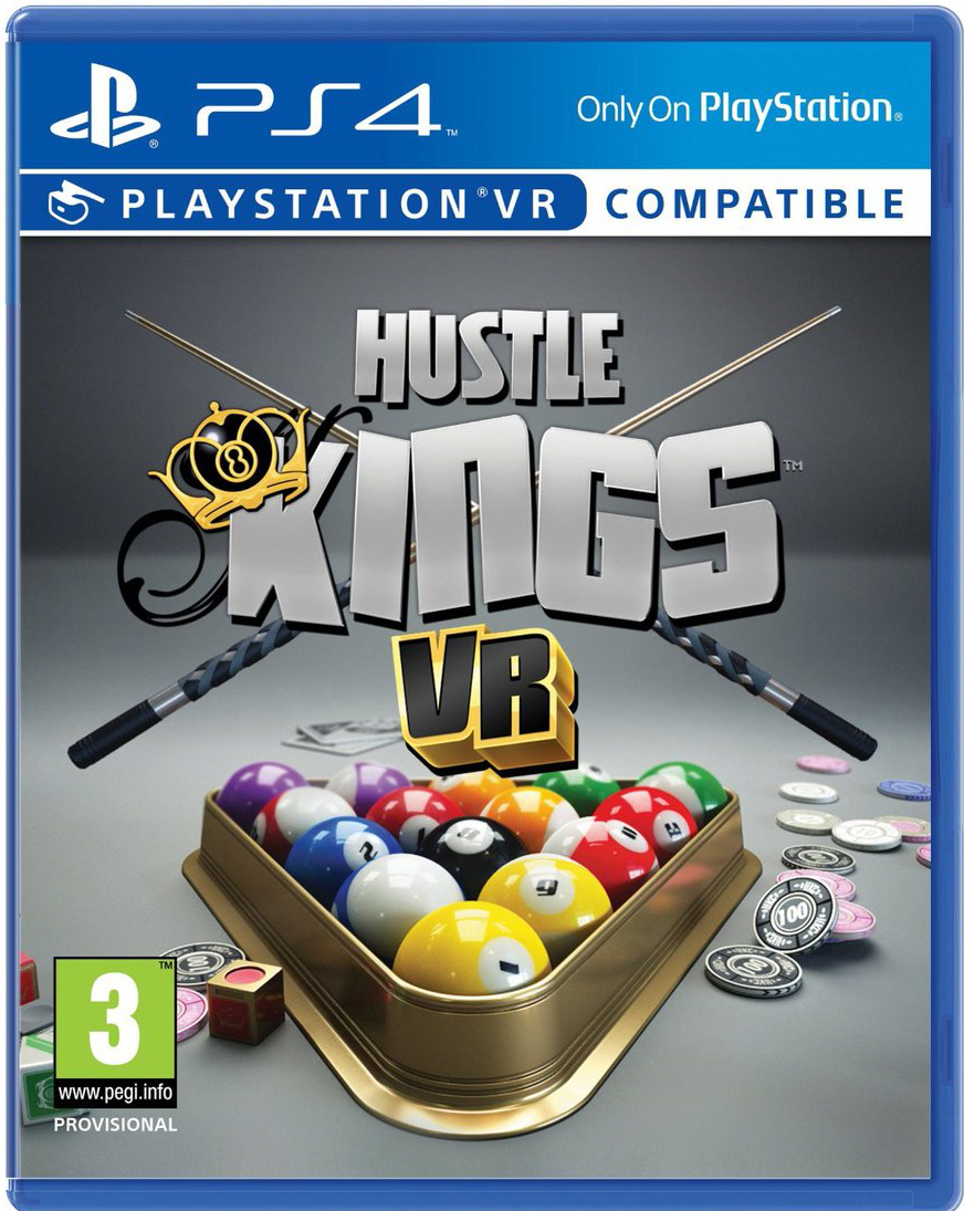 PlayStation VR Box Art Hustle Kings VR