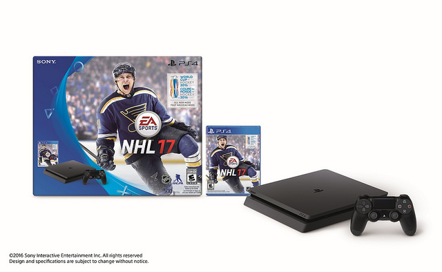 NHL 17 PS4 Slim Bundle