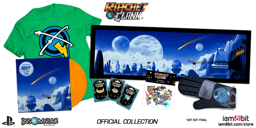 Ratchet & Clank Merchandise