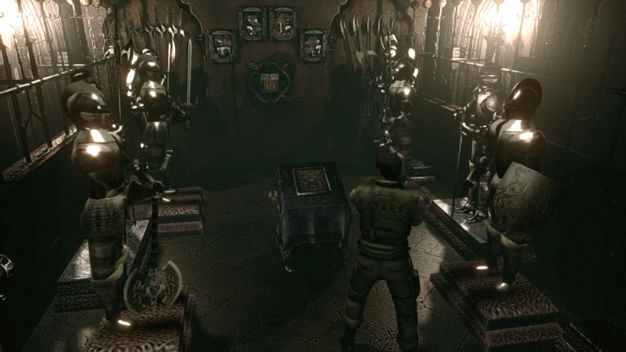 Resident evil remastered trophy list sneaks out includes for Plante 42 resident evil