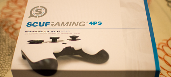 Scuf 4PS Pro Packaging (Top)