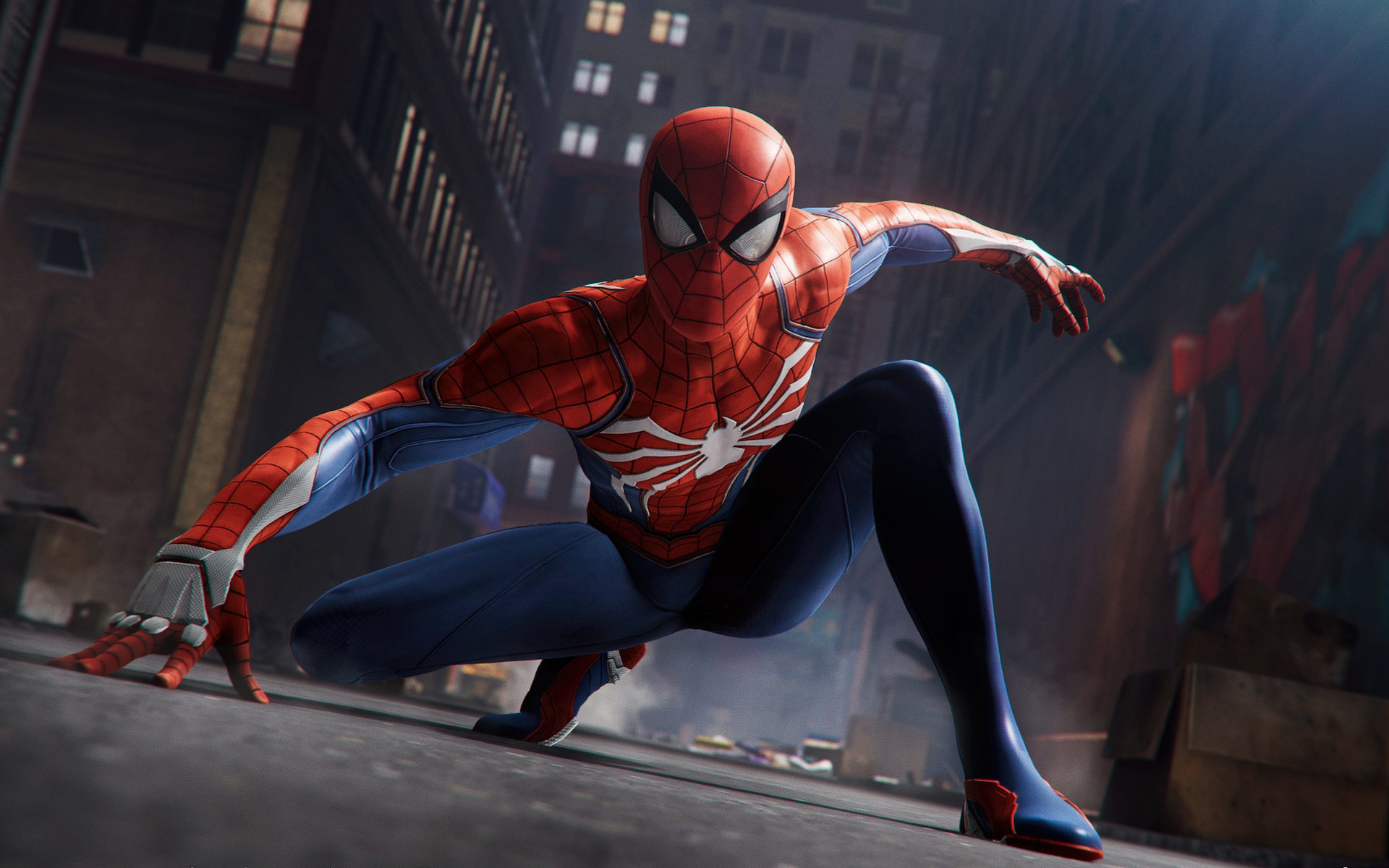 Spiderman - Crouching Stance