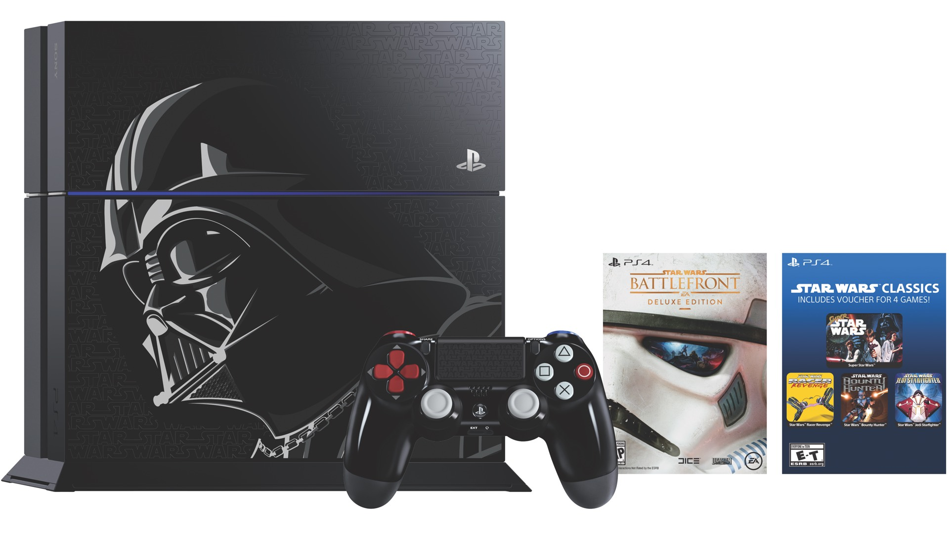 These Are the Star Wars Battlefront PS4 Bundles, Darth Vader Controller Can Be Bought Separately