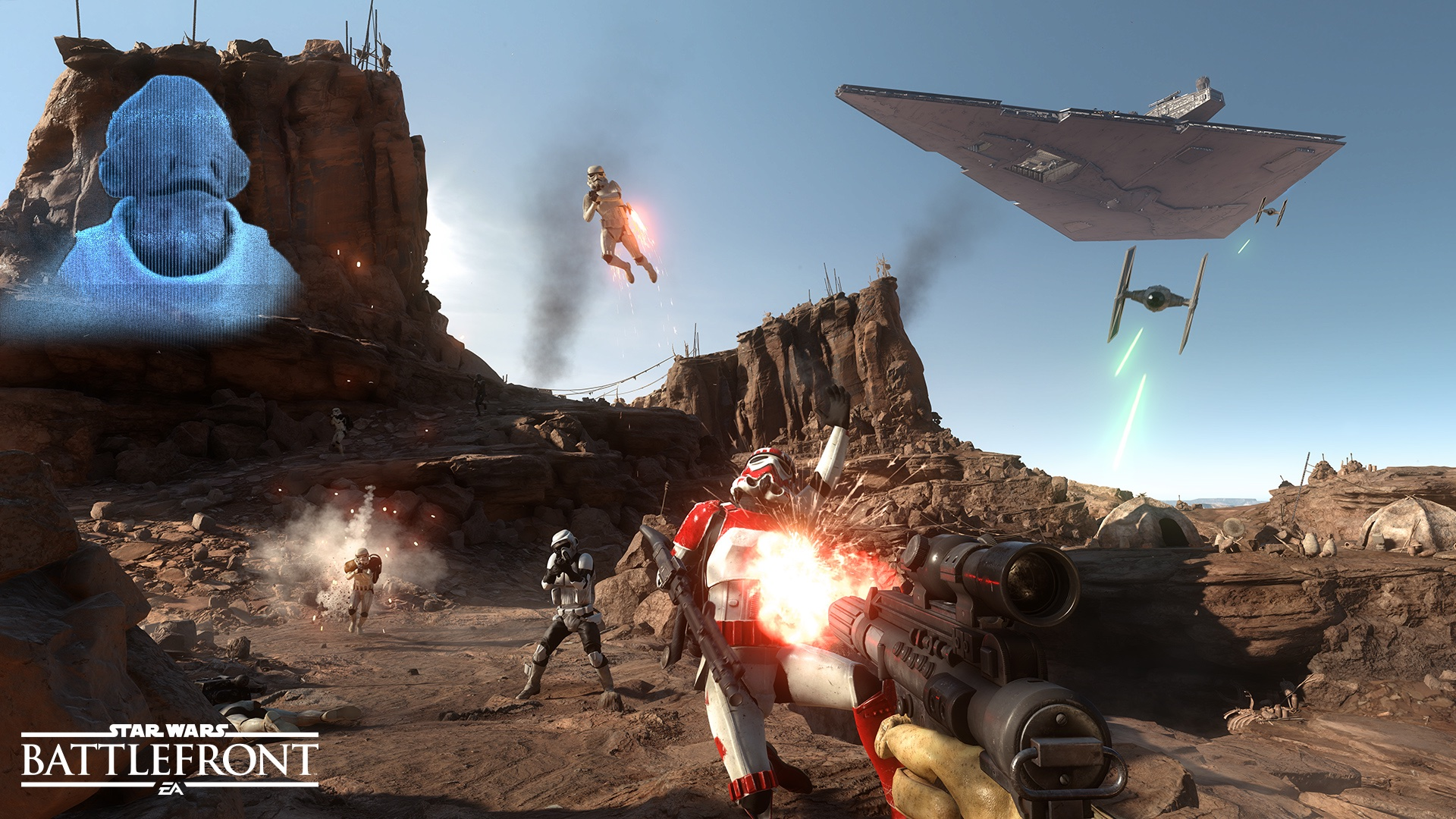 DICE Explains Why Battlefront Doesn't Have a Campaign