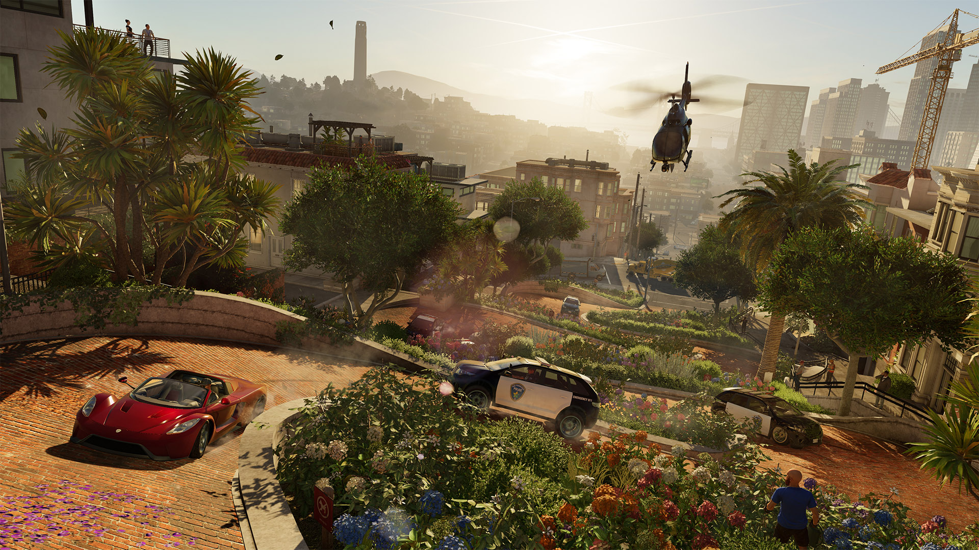 New Gameplay Trailer Includes Watch Dogs 2's Map Size
